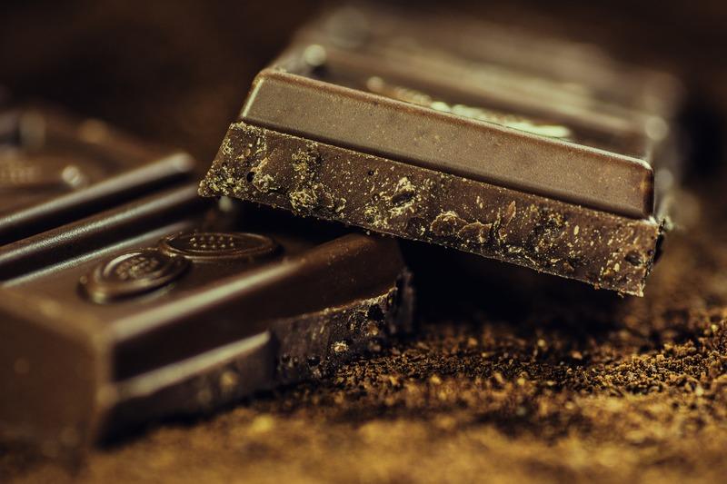 Tmavá čokoláda obsahuje antioxidanty