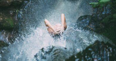Ledová sprcha a její výhody